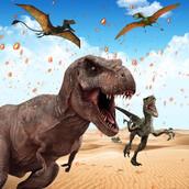 Игра Охотница на динозавров