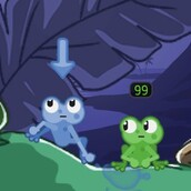 Игра Сражение лягушек