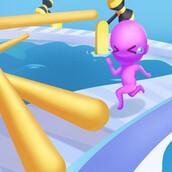Игра Прикольный забег 3D