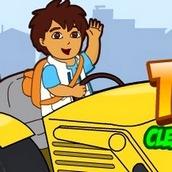 Игра Диего управляет трактором