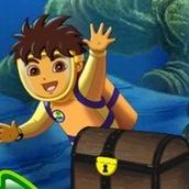 Игра Диего в океане