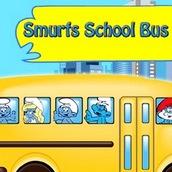 Игра Автобус со Смурфиками