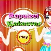 Игра Макияж для Рапунцель