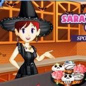 Игра Кухня Сары: готовим кексики