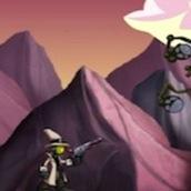 Игра Робот против пришельцев