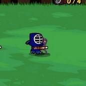 Игра Ниндзя борец
