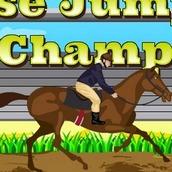 Игра Прыгать на Лошадях