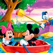Игра Микки Маус ищет буквы