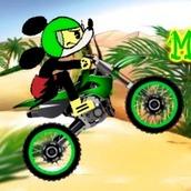Игра Микки Маус на мотоцикле