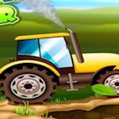 Игра Кататься на тракторе
