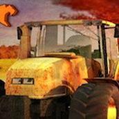 Игра В Хэллоуин на тракторе