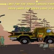 Игра Армейский грузовик