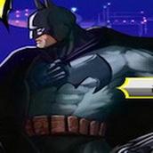 Бэтмен в машине