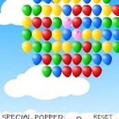 Игра Воздушные шарики с обезьянкой