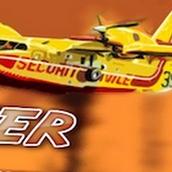 Игра Пожарный самолет