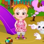Игра Малышка Хейзел: Время стирки