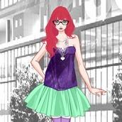 Дизайнерская одевалка