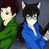Игра Одевалка: аниме партнеры