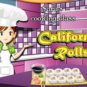 Игра Кухня Сары: роллы Калифорния