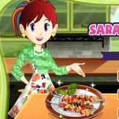 Игра Кухня Сары: шашлык для пикника