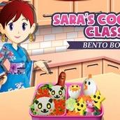 Игра Кухня Сары: готовим бенто
