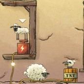 Игра Баранчик Шон и овечки в подземелье