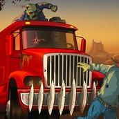 Игра Крутая машина против зомби