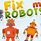 Игра Собирать роботов
