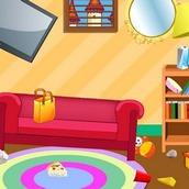 Игра Уборка в простом доме
