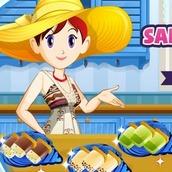 Игра Кухня Сары: фруктовый лед