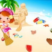 Игра Уборка на острове