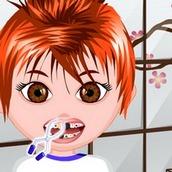 Игра Лечить зубы мальчику