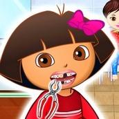 Игра Лечить зубы Даше