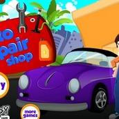 Игра Магазин по ремонту машин