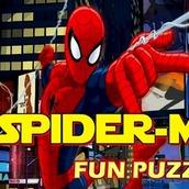 Игра Собери круг с Человеком Пауком