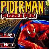 Игра Пятнашки с Человеком Пауком
