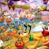 Игра Плиточный пазл с Микки Маусом