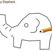 Рисовалка слоника