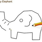 Игра Рисовалка слоника