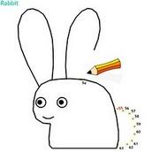 Рисовалка кролика