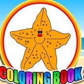 Игра Раскраска морских животных