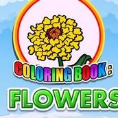 Игра Раскраска цветов