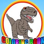Игра Раскраска динозавров