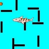 Игра Спасаться от акул в лабиринте