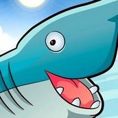 Игра Три в ряд с акулой