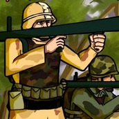Игра Солдаты с базукой