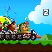 Игра Гонки Супер Марио 2