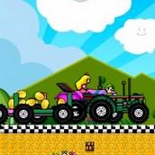 Игра Поездка на тракторе