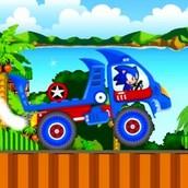 Соник на тракторе