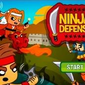 Игра Защитим ниндзя!